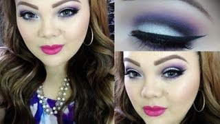 Tutorial: Look Morado ♥