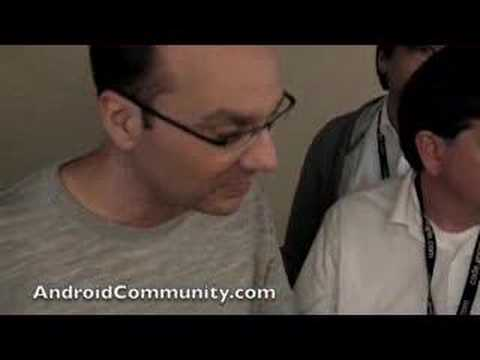 Android and HTC Dream phone Q&A With Andy Rubin