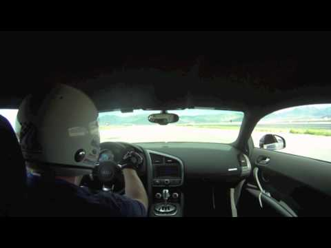Heffner Twin Turbo R8 Lapping Miller Motorsports Park (No Music)