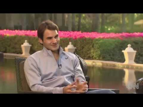 Federer  talks about his kids