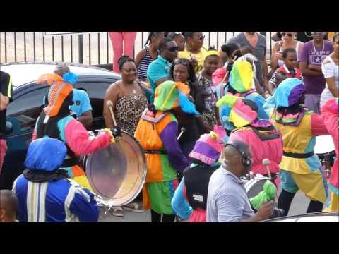 Intocht Sinterklaas 2016 op Curaçao