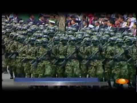 Así se alistan las Fuerzas Armadas Mexicanas para un Desfile Militar [2009]