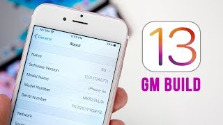 iOS 13 GM Released - How to Install!