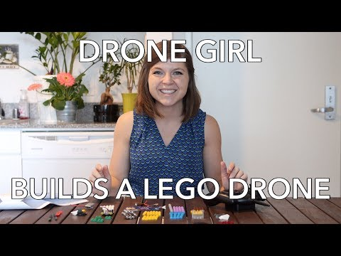 Drone Girl Builds Flybrix's Lego Drone