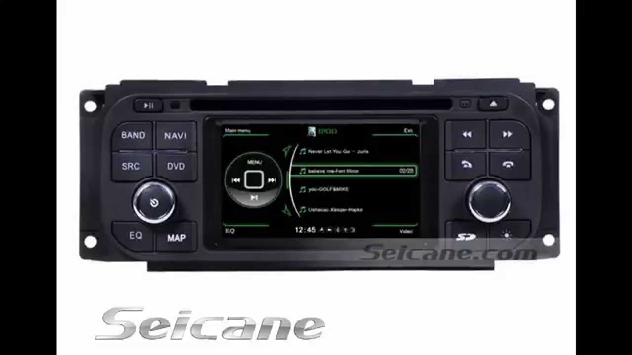 original chrysler grand voyager radio replaced with 3d. Black Bedroom Furniture Sets. Home Design Ideas