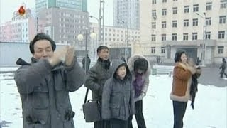 State TV reacts to North Korea nuke test    2/12/13