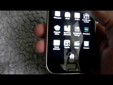 Samsung Galaxy S I9003 Обзор кастомной прошивки PhosegenMod Q4