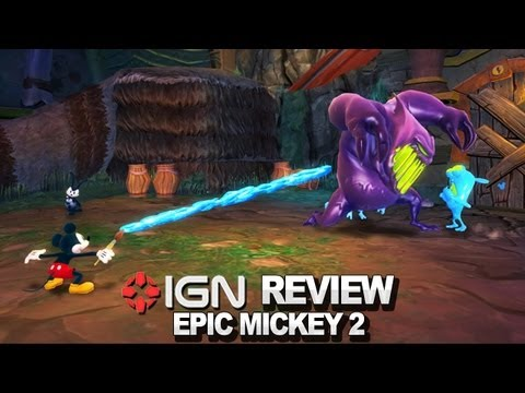 Epic Mickey 2: The Power of Two Video Review - IGN Reviews