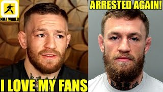 Conor McGregor reacts to getting arrested for smashing a fan's phone,Askren roasts Dillon Danis