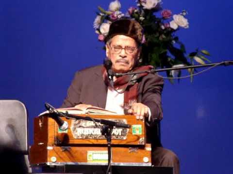 Padmabhushan Manna Dey at Austin:  Laga Chunari Me Daag