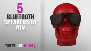 Top 5 Wjm Bluetooth Speakers [2018]: WJM Skull Wireless MP3 Speaker Ghost Amplifiers Protable
