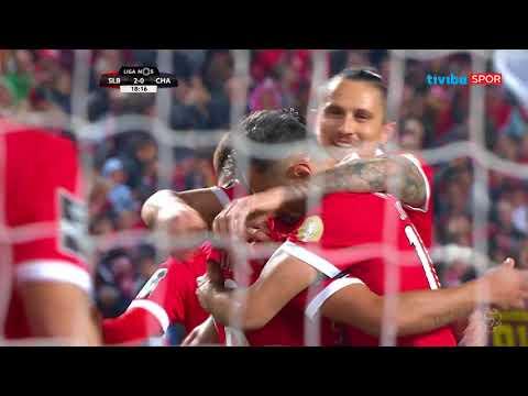 Portekiz Ligi 19. hafta   Benfica 3 - 0 Chaves Maç Özeti