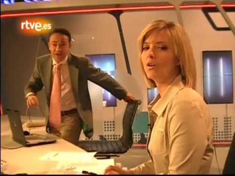 Maria Casado enseña los secretos del Telediario [2/2]
