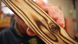 Wood Burning Tips For The Best Shou Sugi Ban Inspired Finish / DIY Charred Wood