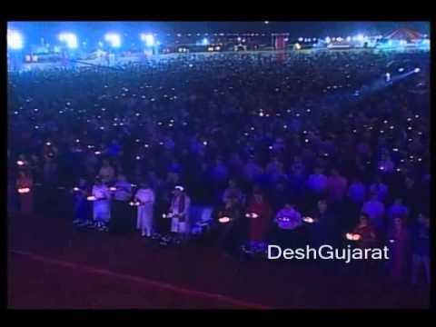 Jay Adhya Shakti Navratri aarti at Ahmedabad in presence of...