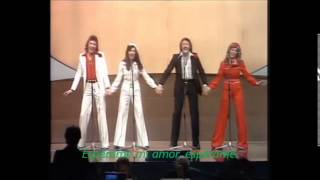 Eurovision 1976 (Inglaterra) Save your Kisses for Me - Brotherhood of Man (Subtitulado al Español)