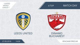 AFL18 United World League-1 Day 4 Leeds United - Dinamo Bucharest