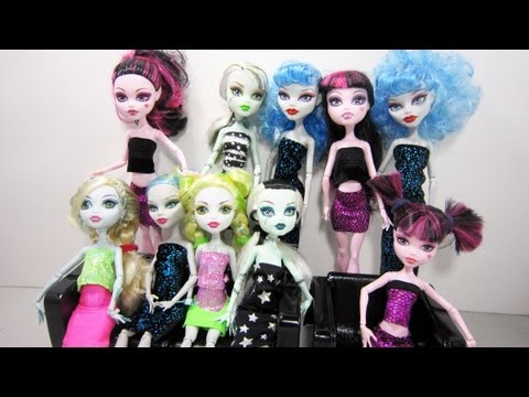 free downloadable clothes patterns for monster high doll