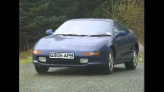 Old Top Gear 1990 - Toyota MR2 & Celica GT4