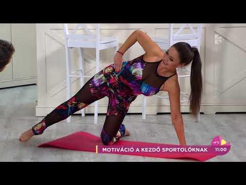 Czető Roland az eszméletlenül csinos Geszler Dorottyával pilatesezett - tv2.hu/fem3cafe