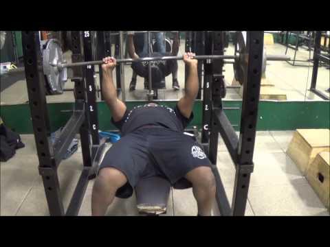 bench press 335