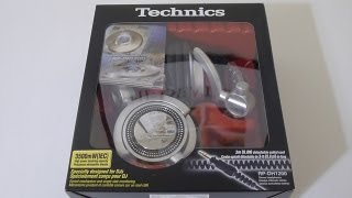 Technics RP-DH1200 DJ Headphones Unboxing