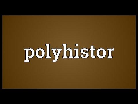 Header of polyhistor