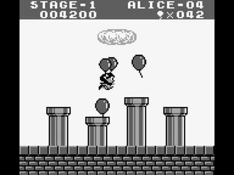 Game Boy Longplay [055] Balloon Kid