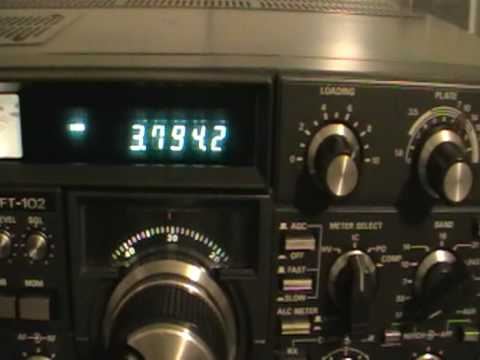 HAM RADIO - YAESU FT-102 -