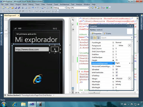 Creando la primera aplicación para Windows Phone 7