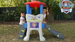 Paw Patrol Lookout Climber Kids Outdoor Playtime Fun With Ckn Toys
