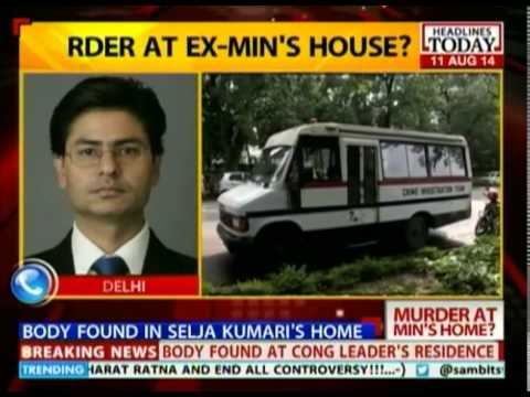 Was Former Union Min Kumari Selja's maid's husband murdered?