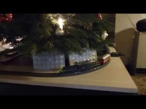 Swiss Crocodile under Christmas tree in Kransberg