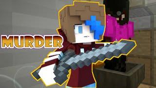 MINECRAFT LETS PLAY MURDER | ANIME TRASH | GAMER CHAD & RADIOJH GAMES