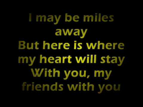 Farewell (to You My Friend) Lyrics video