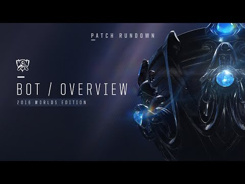 Patch Rundown: Worlds 2016 - Bot Lane