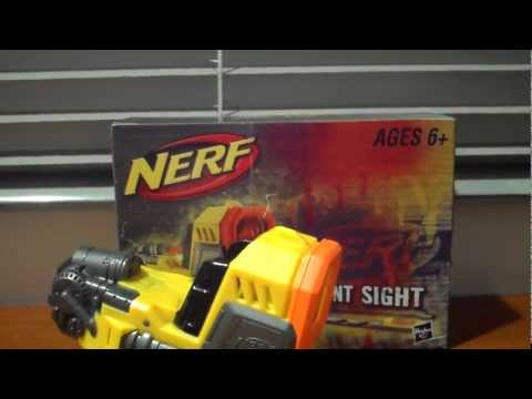 how to make easy nerf sights