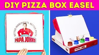13 GENIUS CRAFTS FROM BOXES