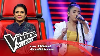 Apoorva Jayaweera - Tu Hi Re | Blind Auditions | The Voice Sri Lanka