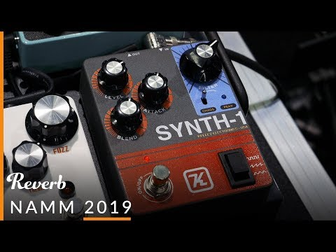 Keeley Electronics Eccos, DDR Drive/Delay/Reverb, Fuzz Bender & Synth-1 at NAMM 2019 | Reverb