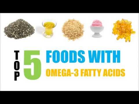 Top 5 Foods With Omega-3 Fatty Acids