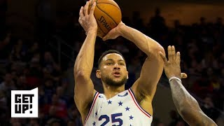 Ben Simmons' shooting will not cost Sixers in the playoffs – Richard Jefferson | Get Up!