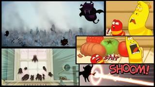 LARVA HEROES- ANDROID GAMES |ABAKAZ Cartoon Movie|Cartoons For Children |Larva Cartoon |No Comentary