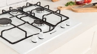 Hotpoint GC640WH Gas Hob