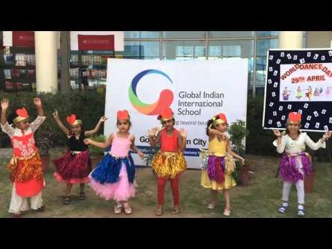 GIIS Ahmedabad toddlers on World Dance Day!