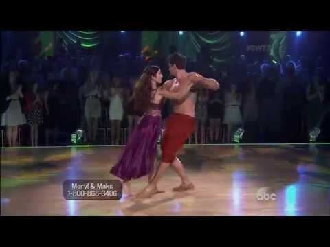 Meryl and Maks - Top 10 DWTS Performances