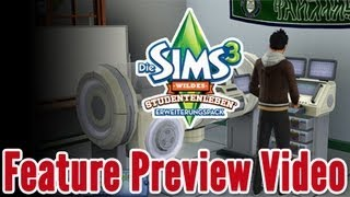 Die Sims 3 Wildes Studentenleben - Feature Preview Video