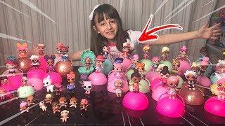 LOL SURPRISE DOLLS Collection Video !!  SOPHIA SANTINA