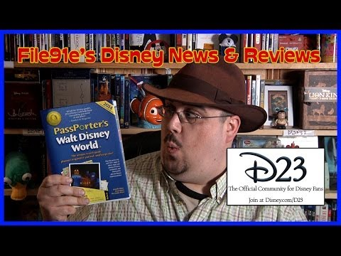 File91e's Disney News & Reviews (Passporter Guide Review & D23 Overview 2014)