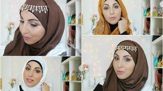 Download HIJAB TUTORIAL FOR EID |  Tuto hijab pour l'Aid | Ramadan'Up #10 3Gp Mp4